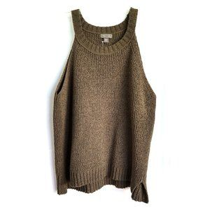 J.Crew Point Sur Tank Sweater Loden Green